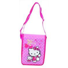 Bolso bandolera cerezas Hello Kitty - http://regalosoutletonline.com/regalos-originales/accesorios-temporada-nino/bolso-bandolera-cerezas-hello-kitty