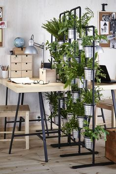 A green screen is a unique way to divide your space.Featured Products  SOCKER  IVAR  TORNLIDEN  LERBERG (Source: everyday.ikea.com)