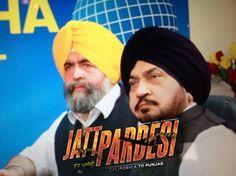 #JaspreetSinghAttorney at law USA and #SurinderShinda in a movie scene in up coming Punjabi movie #JattPardesi coming soon