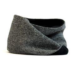 harris tweed loop scarf by catherine aitken | notonthehighstreet.com