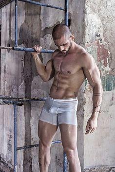 Ricardo Wears The Eighth underwear by Kevin Slack