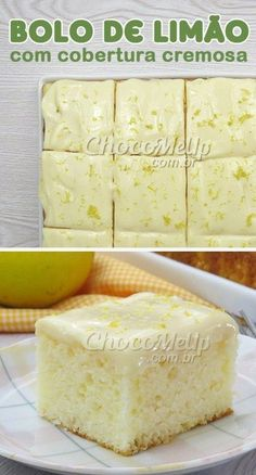 An easy cake to make . An easy-to-make cake with a fluffy dough and a slightly cream - Easy Cakes To Make, How To Make Cake, Sweet Recipes, Cake Recipes, Dessert Recipes, Yummy Cakes, Delicious Desserts, Cupcake Cakes, Bakery