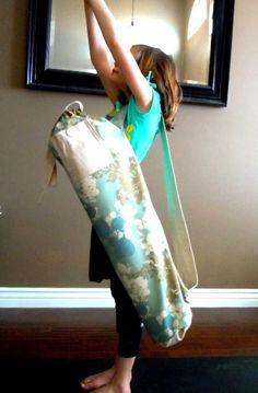 Yoga Mat Bag by YoBaggaBagga on Etsy