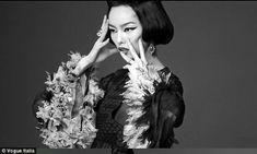 Chinese supermodel Fei Fei Sun in Vogue Italia