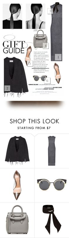 """A Guide Gift"" by aleessarm ❤ liked on Polyvore featuring F, Maison Margiela, T By Alexander Wang, Gianvito Rossi, Alexander McQueen, River Island, StreetStyle, AlexanderMcQueen, AlexanderWang and GianvitoRossi"