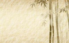 wallpaper kunst und malerei | Bambus, Malerei, Bambus-Blätter, Kunstwerk, beige, orientalisch ...