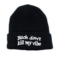 I think you'll like Casual Letter Printed Black Wool Elastic Beanies Hats For Men And Women. Add it to your wishlist!  http://www.wish.com/c/53bd4d1fff4d6d13767bb900