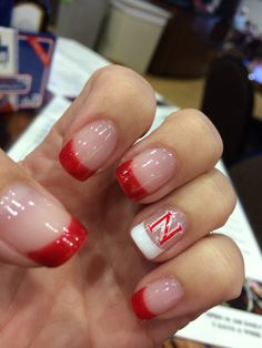Go Red Nails Huskers