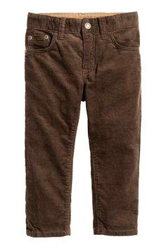 Pantaloni in velluto a coste | H&M