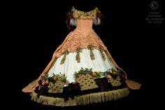 Costume designed by Daniel Ogier for the Paris Opera's 1988 production of Jacques Offenbach's Orpheus in the Underworld (Orphé aux enfers) From the Centre National du Costume de Scène