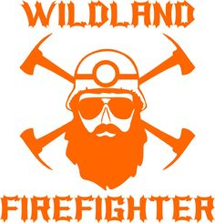 A decal for the Wildland Firefighter. Crossed pulaskis, helmet and of course, the Beard. Comes in 5 sizes and 7 colors Firefighter Logo, Wildland Firefighter, Fire Dept, Fire Department, Bureau Of Indian Affairs, Thin Green Line, Pine Design, Fire Photography, Morale Patch