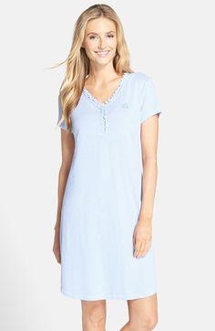 Nursing Pajamas, Striped Tee, Ruffles, Tees, Shirts, Nordstrom, Ralph Lauren, Shirt Dress, Casual