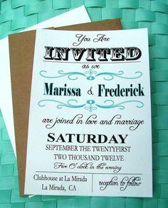 easy invitations