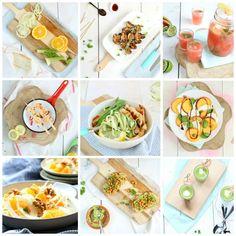 Een overzicht van alle gezonde recepten van Lekker eten met Linda. Stap voor stap gezonder en vooral lekker eten.