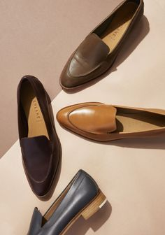 Fall for these new Modern Loafers. Now available in Camel, Pewter, and Black Patent Leather. Shop here.