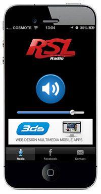 New radio iphone application online. RSL Radio France!