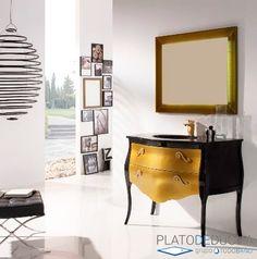 Plantation Kitchen and Bath Modern Bathroom Design, Kitchen And Bath, Black Gold, Cabinet, Storage, Furniture, Bathrooms, Home Decor, Trends