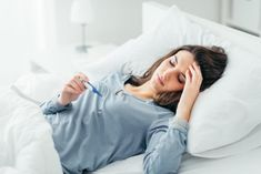 Fever is a temporary rise in body temperature. It is the body's way of fighting off bacteria and viruses. Using essential oils for fever may lower your excessive body temperature and other symptoms. Essential Oils For Fever, Latest Medical News, Spearmint Tea, High Fever, Health Benefits, Tea Benefits, Cancer, Tips, Immune System