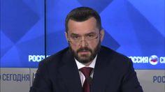 2016-02-24 Телемост Москва-Киев: экс-министр МВД Украины Захарченко В.Ю....