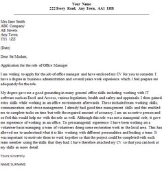 Speculative Cover Letter Example job news Pinterest