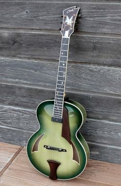 Cheval Guitars Lola - I'd like to try and make one like this. Beautiful colour.