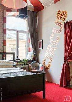 Яркая квартира в Санкт-Петербурге- интерьер, фото | AD Magazine