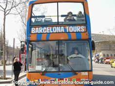 "Barcelona Bus Tour Review: Barcelona Tours Open-Top ""Hop On Hop Off Sightseeing Tourist Bus"""