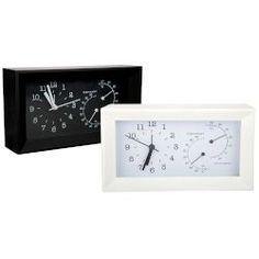 Sentio Ρολόι Γραφείου με Θερμόμετρο και Υγρόμετρο - Ρολόγια