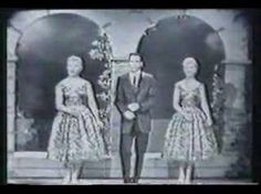 Another hit song by The Fleetwoods in 1959 was their HUGE hit  'Come Softly To Me.' This one gets more 'oldies' play now then Mr. Blue (another hit for them in 1959)