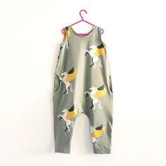Screen printed jumpsuit post is up today. #wearebobbinhood #screenprintingfabric #alicorn #ontheblogtoday #sewingforkids 🦄