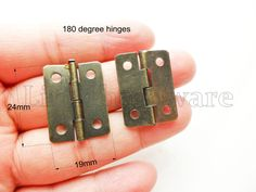 20 pcs 24mmX19mm antique brass color classic butt hinges / parliament hinges / Piano Hinges / jewelry box hinges / decorative hinges VH0098 by LittleHardware on Etsy