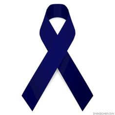 national colon cancer month is in March.  Wear your blue to support in hope to find a cure