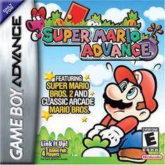 Super Mario Advance (Nintendo Game Boy Advance, - Japanese Version for sale online Nintendo Game Boy Advance, Nintendo Ds, Super Nintendo, Nintendo Games, Arcade Games, Nintendo Switch, Super Mario Bros, Super Mario World, Mario Kart