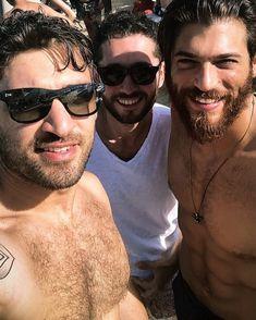Turkish Men, Awesome Beards, Beard Styles, Bearded Men, Fashion Pictures, Gorgeous Men, Actors & Actresses, Hot Guys, Burak Ozcivit