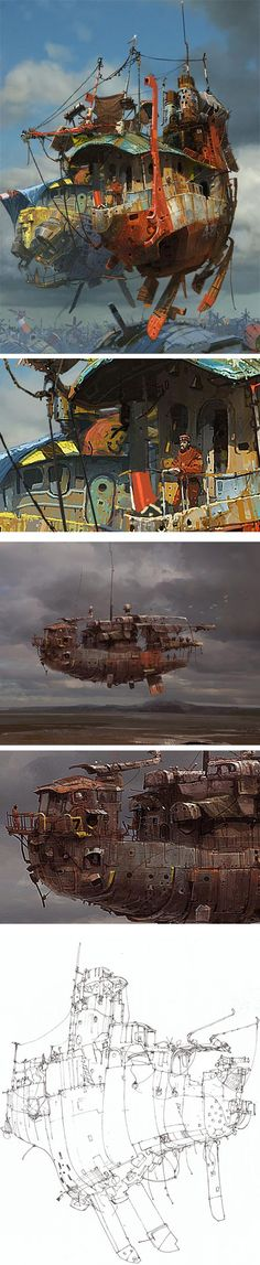 Ian McQue  STEAMPUNK!!!! Get Inspired Today! Introducing Moire Studios  ❃ || Feel Free to Follow us @moirestudiosjkt for more amazing pins like this. Or visit our website www.moirestudiosjkt.com to know more about us. || ❃ #illustrations #digitalIllustration #drawings