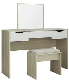 Buy New Scandinavia Dressing Table - White at Argos.co.uk - Your ...