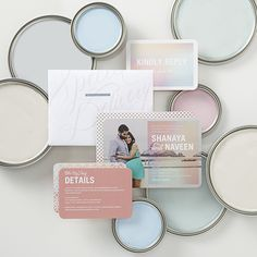 Pretty pastel designs in every shade. Shop wedding stationery to suit your style.