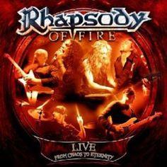 """L'album live dei #RhapsodyOfFire intitolato """"Live - From chaos to eternity"""" su doppio CD."""