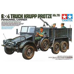 38.33$  Watch here  - OHS Tamiya 35317 1/35 6x4 Truck Krupp Protze Kfz70 Personnel Carrier Military Assembly AFV Model Building Kits