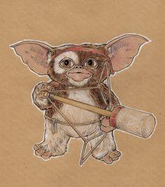 Mogwai Gremlins Art