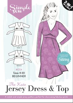 kate dress pattern - free with Love Sewing issue 24