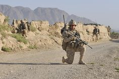 Canadian soldiers on operations in Afghanistan x