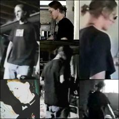 Dylan Klebold ponytail…