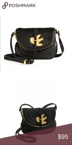 "MARC BY MARC JACOBS PETAL TO THE METAL CROSSBODY 100% Authentic Marc by Marc Jacobs Petal to the Metal Leather Crossbody Bag Purse in BLACK    Color: Black  Dimensions Approx. 6.5"" H x 8"" L x 0.5"" D  Exterior with 100% Cow Leather  Gold toned hardware  Magnetic snap flap closure  zipper pocket on the flap  Adjustable crossbody strap with approx.  22""-24"" drop  dust bag not included.  preowned with lots of wear but has life left.    More pictures to be posted shortly Marc Jacobs Bags…"
