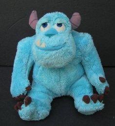 "Blue SULLY MONSTERS INC Plush Soft DISNEY 6"" Stuffed Animal"