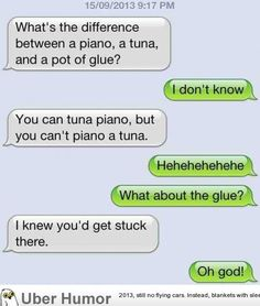 Text messages…