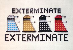 Elf ♥'s Stitching - Etsy Shop Now Open with Doctor Who Cross-stitch Patterns!