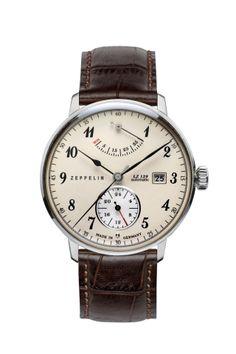 584d1eaf5 SERIES LZ129 HINDENBURG Zeppelin 7060-4. 40mm case. 11mm thickness. Sport  Watches