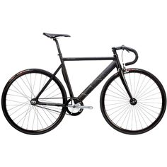 Pure Cycles | Keirin Pro Orion Black Aluminum Fixed Gear Track Bike