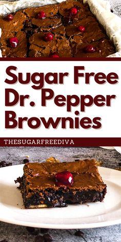 No Sugar Desserts, Sugar Free Deserts, Sugar Free Sweets, Diet Desserts, Low Carb Desserts, Healthy Dessert Recipes, Diabetic Recipes, Sugar Free Low Carb Recipe, Sugar Free Baking